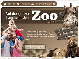 Gratis mit der ganzen Familie in den Zoo