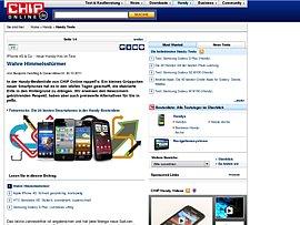 Apple, Nokia und Samsung - Die besten Smartphones im Test