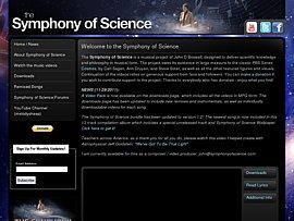 Symphony Of Science zum kostenlosen Download - Wenn Wissenschaft rockt