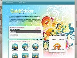 QuickSticker.de - Badges, Sticker und Button für Facebook & Co.