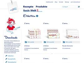 Fruchtig-bunte Etikettenbögen für Eingemachtes, Rezepte und Bilderbuch zum kostenlosen Download