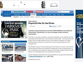 Hörbuch zum kostenlosen Download - Psychothriller Darkside Park