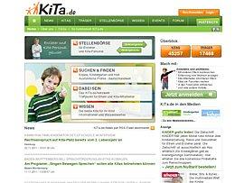 Kita.de - Kindergartenplätze, Stellen für Erzieher sowie Rechte und Pflichten rund um Kitas