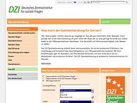 DZI Spenderberatung - Seriöse Spendenvereine leicht erkennen