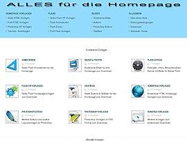 Kostenlose Hompage Vorlagen, Animationen und PSD Designs