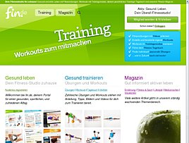 Fin.de - Kostenlose Fitness Übungen und Infos rund um Gesundheit und Ernährung