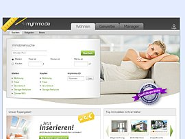 MyImmo - Immobilienportal bietet Wohnungen und Häuser zum Kauf oder zur Miete
