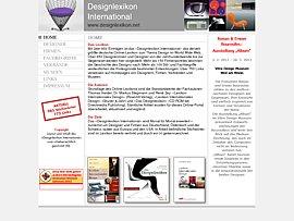 Designlexikon International - Größtes deutsches Online-Lexikon zum Thema Design