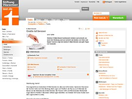 Von Arcor bis Web.de: Kostenlose Freemailer im Vergleich