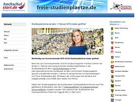 Studienplatzbörse - Kostenloser Zugriff auf freie Studienplätze