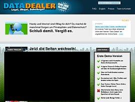 DataDealer - Cooles Online-Spiel rund um Datenhandel