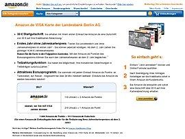 Amazon Visa Karte Geld Einzahlen
