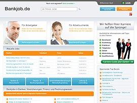 Bankjob - Jobs in den Bereichen Bank, Finanzen und Versicherung