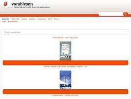 Bücher - Neuerscheinungen kostenlos vorab lesen