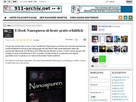 """Thriller """"Nanospuren"""" als E-Book zum kostenlosen Download"""