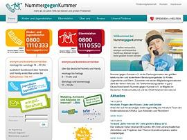 Nummer gegen Kummer - Kostenlose Hotline für Eltern sowie Kinder und Jugendliche