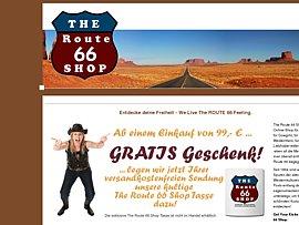 The Route 66 Shop - 10 Prozent Rabatt-Gutschein für alle Artikel