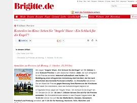 """Mit Brigitte kostenlos ins Kino - """"Angels' Share – Ein Schluck für die Engel"""""""