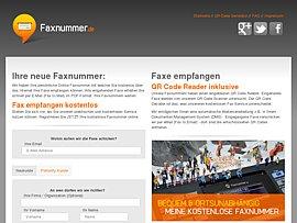 Kostenlose Faxnummer (Fax2Email)