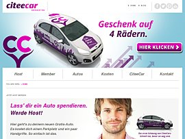 Citee Car Carsharing  - Gratis-Auto gegen Parkplatz