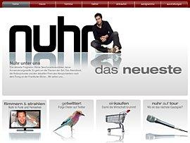 Gratis-Downloads und E-Post versenden mit Dieter Nuhr