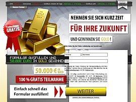 50.000 Euro in Gold gewinnen!