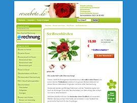 Das kostenlose Rosenbärchen zur Blume