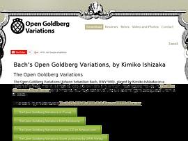 Open Goldberg Variations - Goldberg-Variationen von Bach inklusive Noten zum Gratis-Download