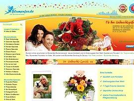 Mit der Blumenfee günstig frische Blumen versenden