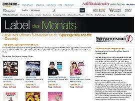 Amazon Label des Monats - Kostenlose MP3-EPs des Comedy-Labels Spassgesellschaft!