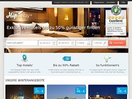 Hipaway –  Hotels zum Schnäppchenpreis