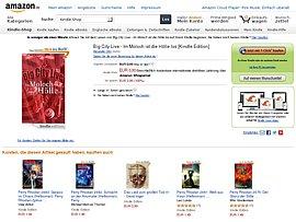 "Amazon spendiert Kindle E-Book ""Big City Live - Im Moloch ist die Hölle los"""