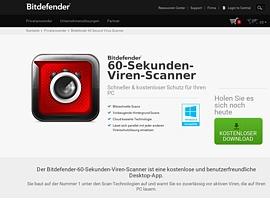 BitDefender 60 Second Virus Scanner zum kostenlosen Download