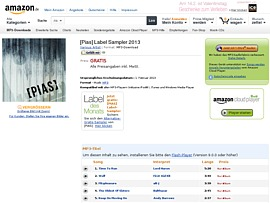 Amazon [Pias] Label Sampler 2013 kostenlos downloaden