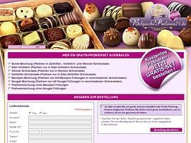 Belgische Pralinen kostenlos bestellen