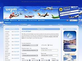 Flugreisen: wegolo.de hilft bei der Suche nach Billig-Flugtickets