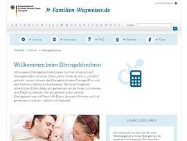 Bundesfamilienministerium aktualisert kostenlosen Elternzeitrechner