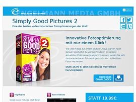 Simply Good Pictures 2 - Vollversion der Bildbearbeitungssoftware kostenlos für Geizkrägen