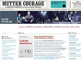 Nachtkritik.de bietet Neues vom Theater