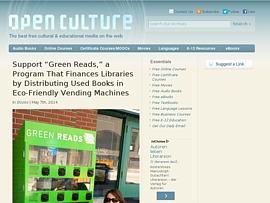 OpenCulture - Kostenlose Hörbücher, Filme, E-Books und Online-Kurse