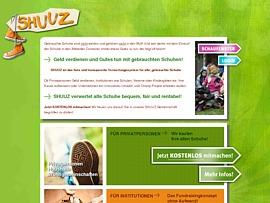Shuuz sammelt Schuhe - Gebrauchte Schuhe verkaufen und Geld verdienen oder spenden