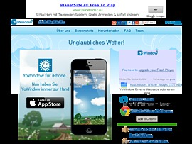 Yowindow.de kostenlos downloaden für originelles Wetter auf dem PC oder Mac