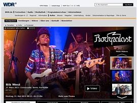 """In der """"WDR Rockpalast""""-Videothek hunderte Konzerte kostenlos anschauen"""