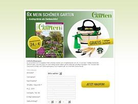Mein schöner Garten: Kostenloses Set zum Abo