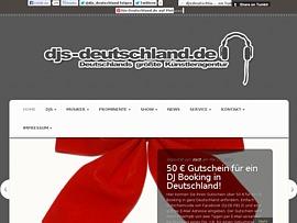 DJs-Deutschland.de vermittelt DJs, Musiker und Showacts