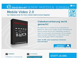 Mobile Video 2.0 zum kostenlosen Download - Your Videos To Go!
