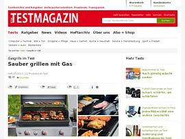 Gasgrills im Test - Sommerzeit, Grillzeit!
