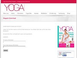 E-Book zu den Grundlagen des Yoga zum kostenlosen Download