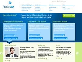 Foundersbox bietet kostenlos Unterstützung für Start-ups - Finanzierung, Steuern und Recht