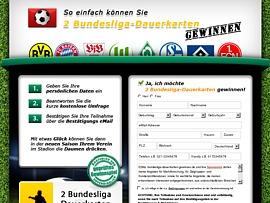 Bundesliga Dauerkarten gewinnen